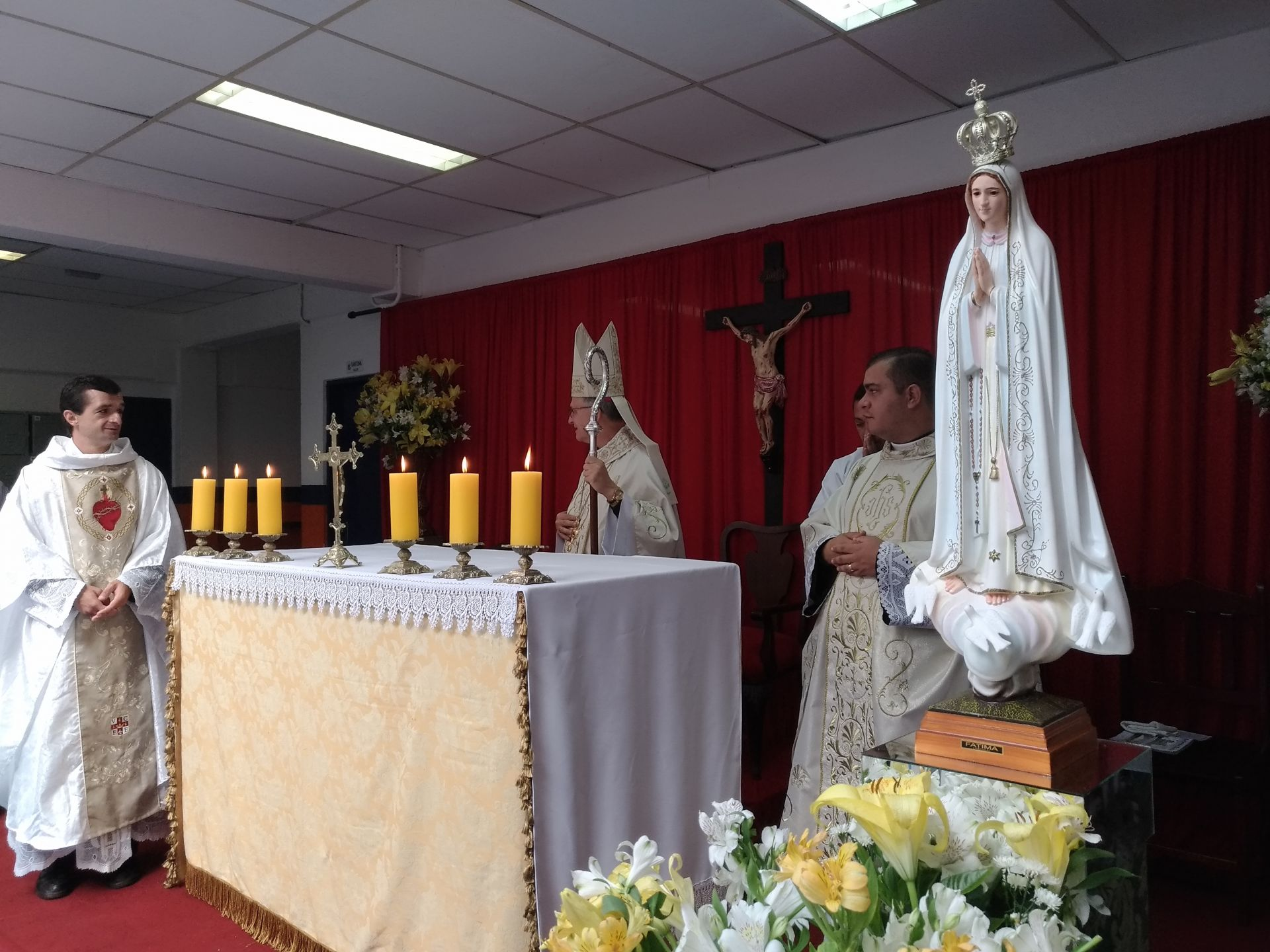 Abertura do ano letivo 2019 - Missa da manhã