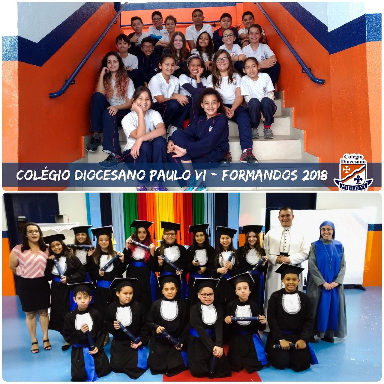 Formatura do 5º ano  do Colégio Diocesano Paulo VI - 2018