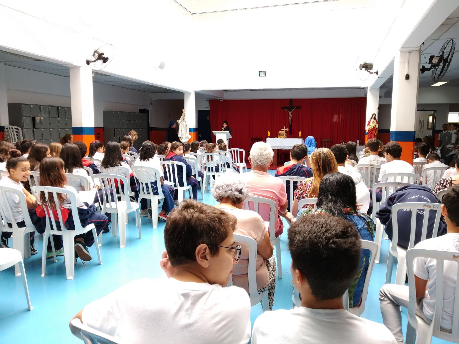Missa em Ação de Graças pelo encerramento do ano letivo de 2019